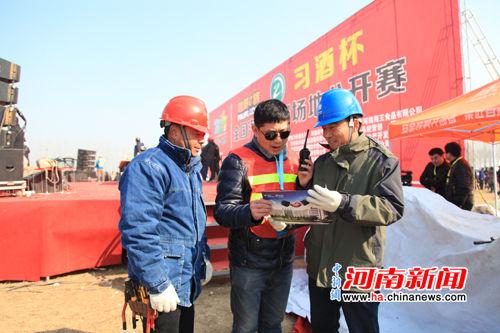 长垣县供电公司为越野车比赛保供电 - 河南电力